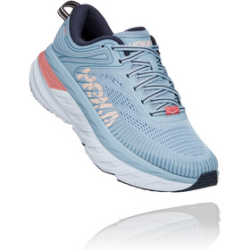 Hoka One One Bondi 7 Running Shoes Women blue fog/ombre blue